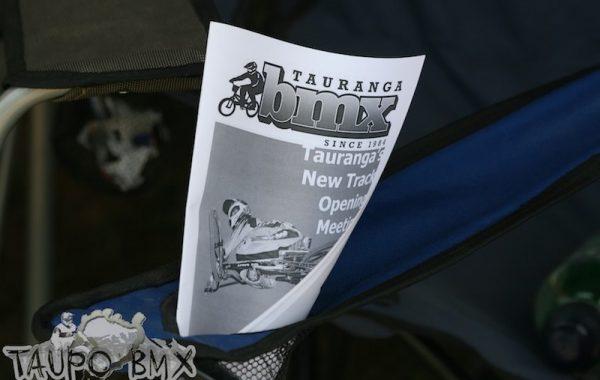 2011 Tauranga Track Opening