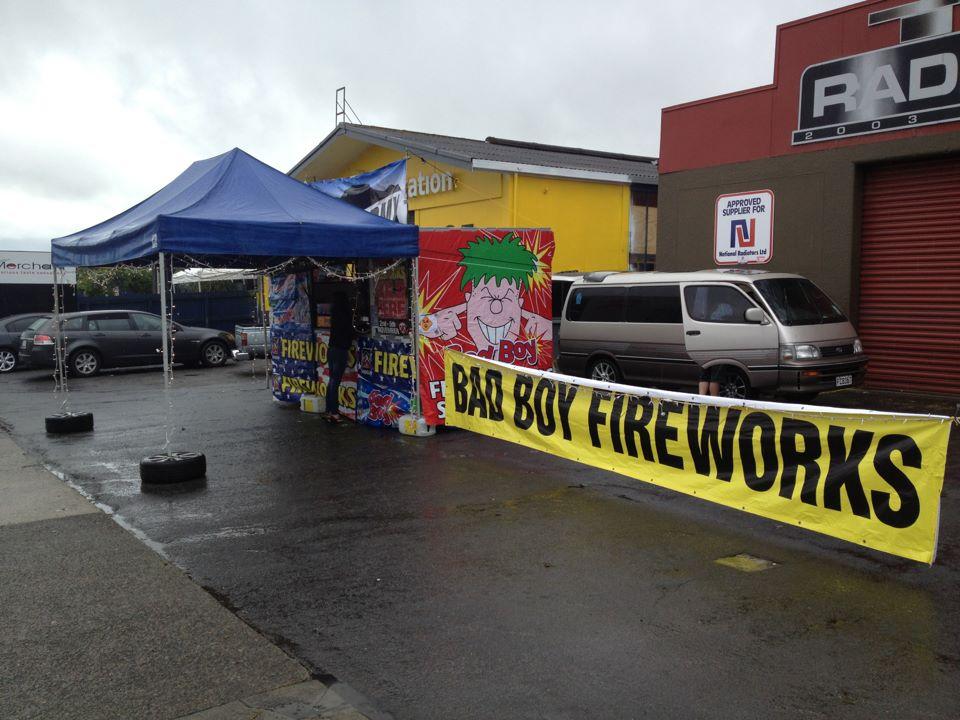 Taupo BMX Fireworks
