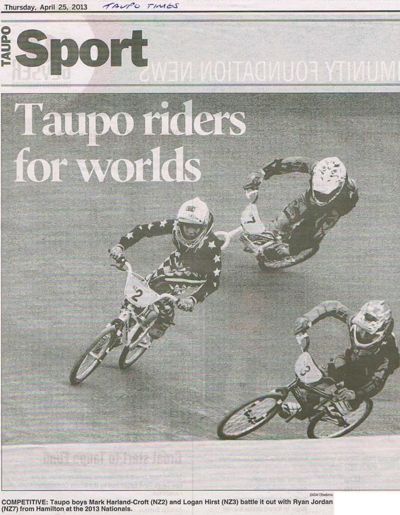 Taupo Riders for Worlds